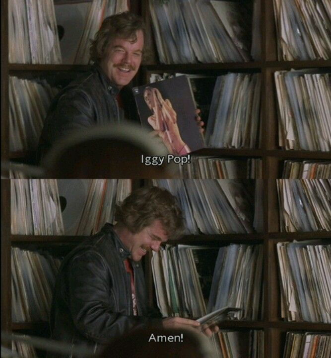 Almost Famous Lester Bangs Iggy Pop (With images