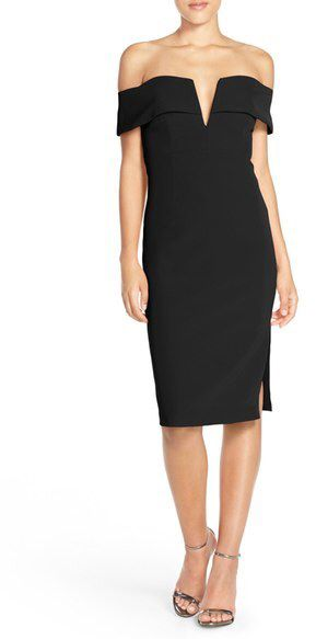 Bardot 'Candice' Crepe Midi Dress | Dresses, Nordstrom ...