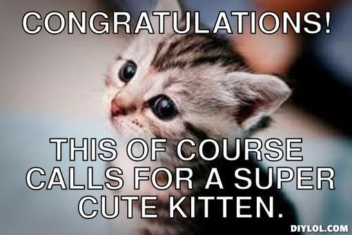 Image result for congrats meme