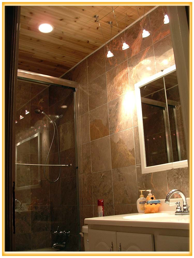 Bathroom, Cabin Bathroom Accessories In Small Space With Simple ...