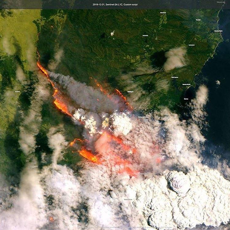 Salam Katanani سلام قطناني On Instagram استقبلنا السنة الجديدة بكارثة مناخية حرائق أستراليا لسا مشتدة من In 2020 Australia New South Wales Climate Change