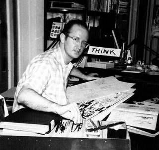 Steve Ditko, artist/creator of Spiderman, Dr. Strange