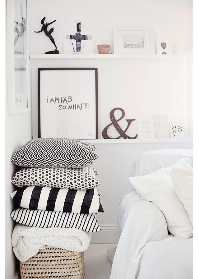 so gem tlich die sch nsten schlafzimmer accessoires in 2018 pillows pinterest. Black Bedroom Furniture Sets. Home Design Ideas