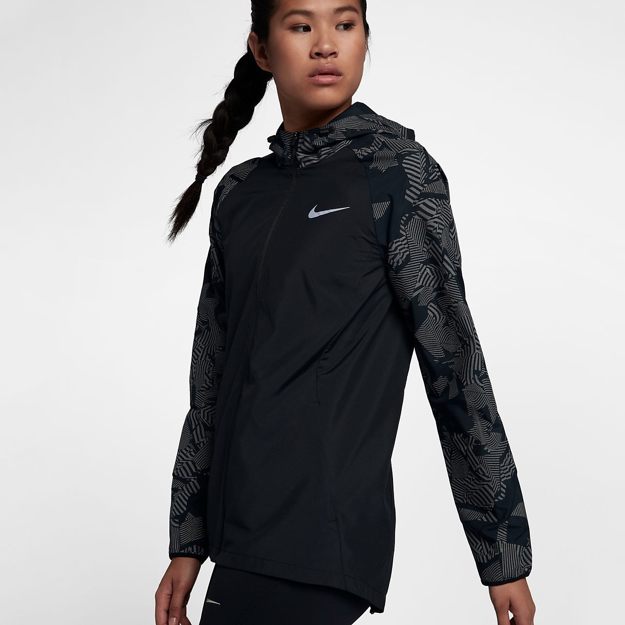 3d9fe78ed62 Nike Essential Flash Women's Reflective Running Jacket | clothes in ...