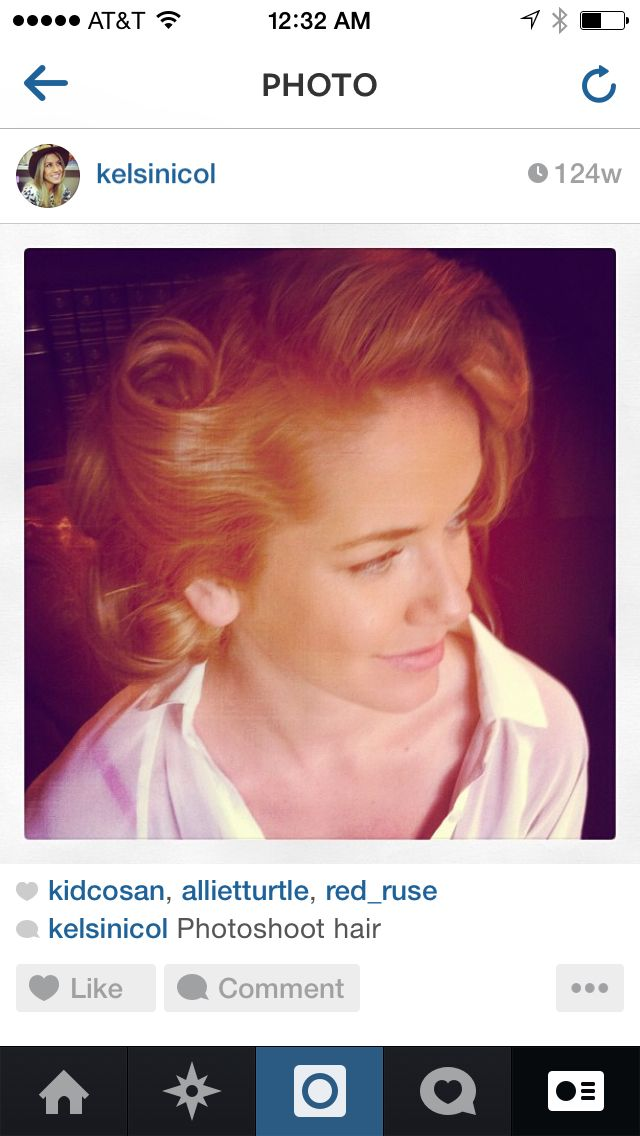 Editorial hair. Photo shoot inspired by 1950's guess add