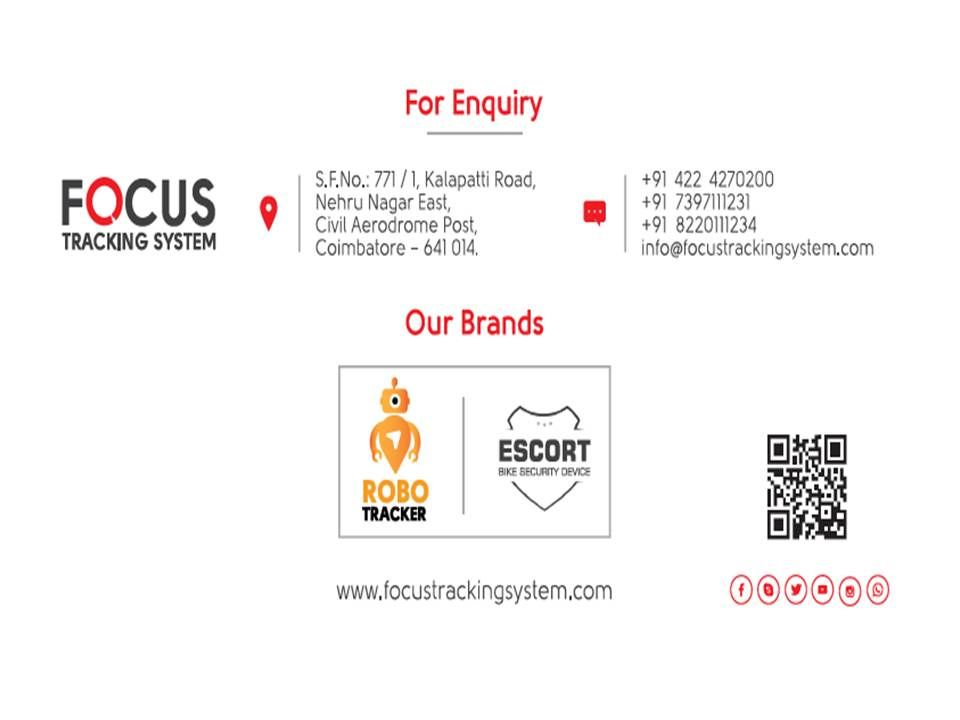 Focus Tracking System Is Positioned At Coimbatore With Branch