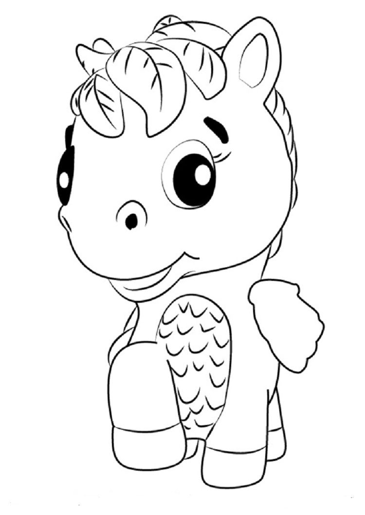 hatchimals ponette coloring pages coloring pages for