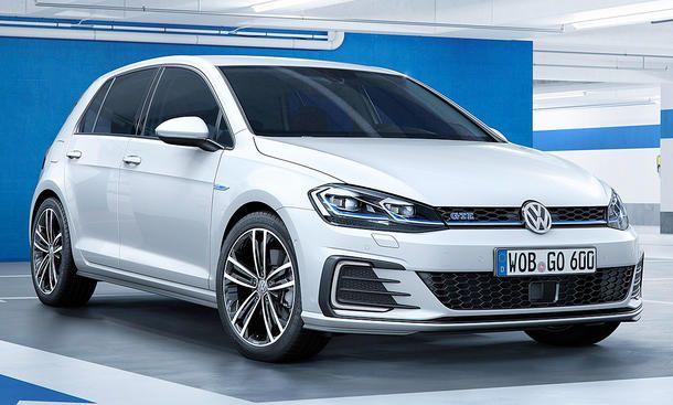Vw Golf Gte Facelift 2017 Hybrid Motor Autozeitung De Volkswagen Golf Volkswagen Autozeitung