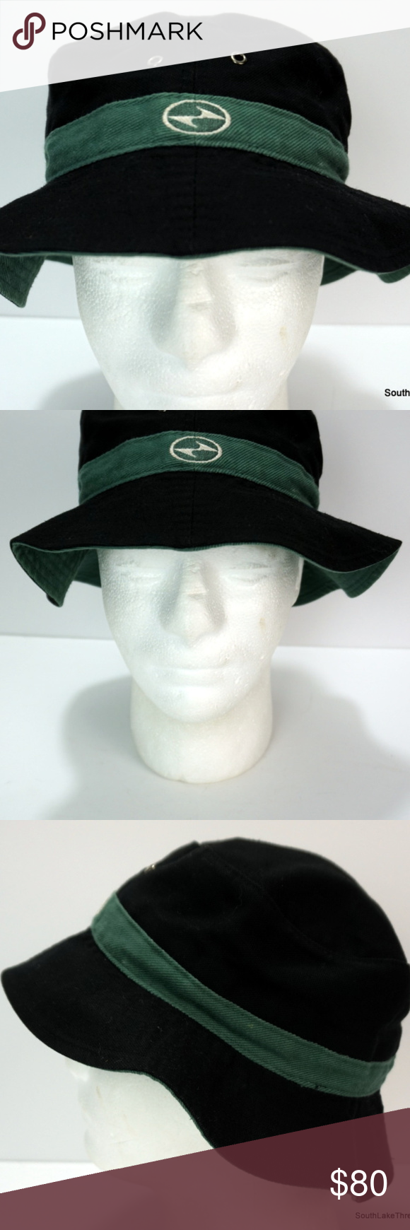 823f2bad63a86 Vintage 90s Nike Tiger Woods TW Bucket Hat Vintage 90s Nike Tiger Woods TW Nike  Golf