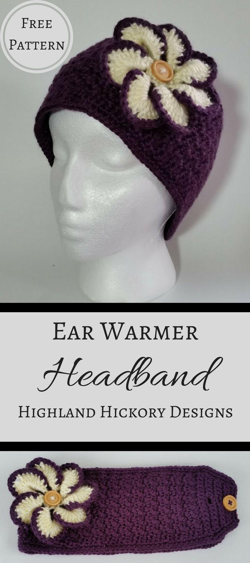 Mimi\'s Ear Warmer Headband | Cosas para hacer, Gorros y Luces