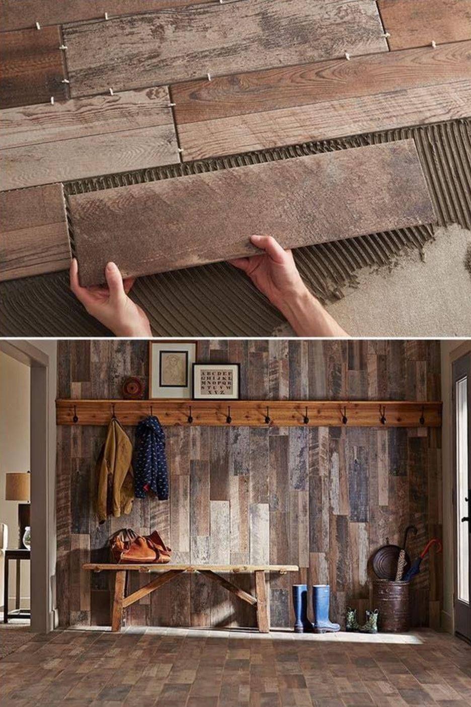 Over 60 of the BEST DIY Pallet Ideas | Wood grain tile ...