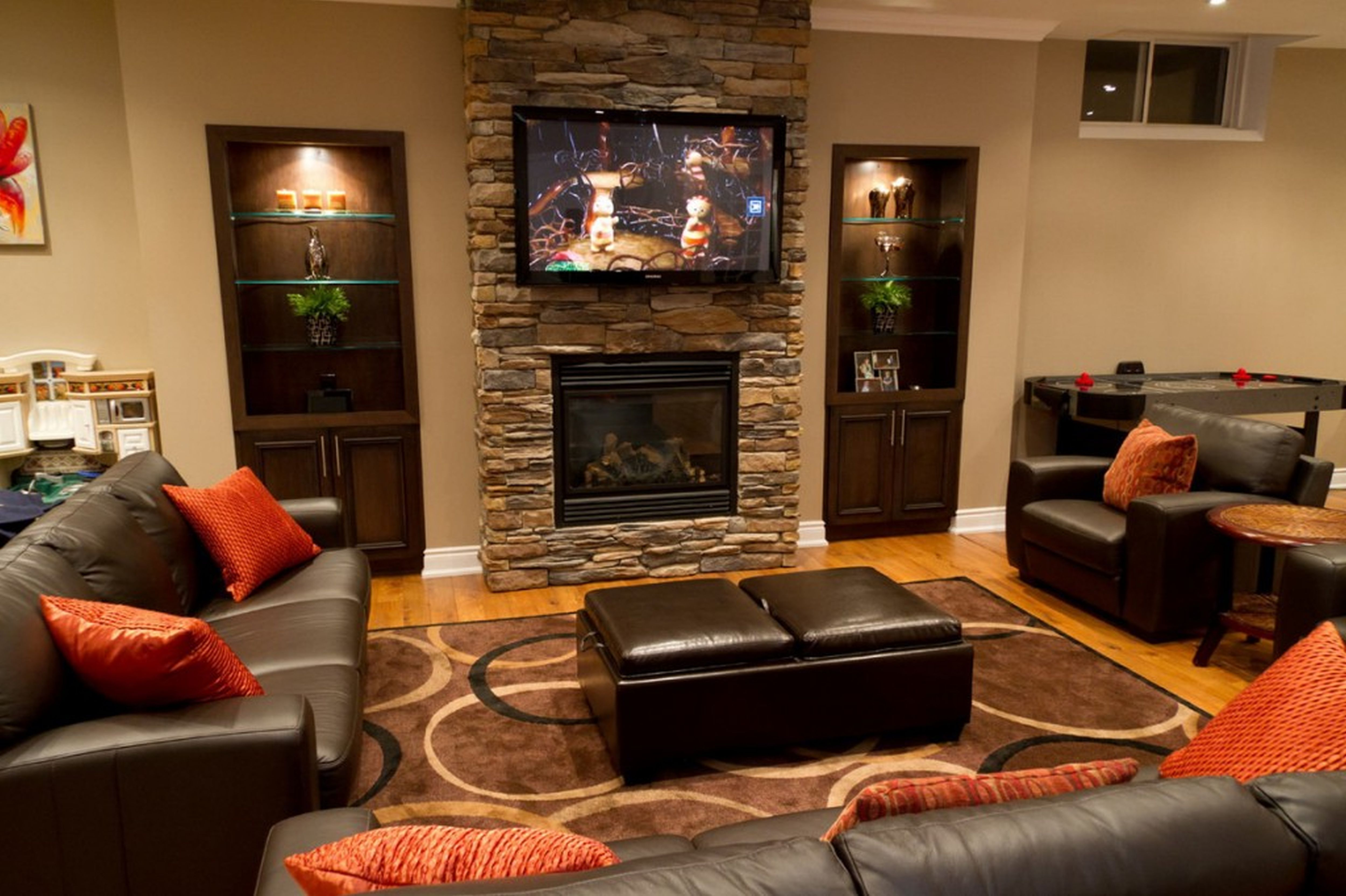 amazing living room furniture for best apartment and house designs | basement apartment ideas | basement design ideas ...