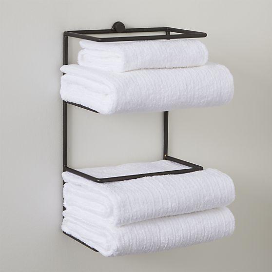 Jackson Wall Mount Towel Rack Towel Rack Luxury Towels Towel Storage