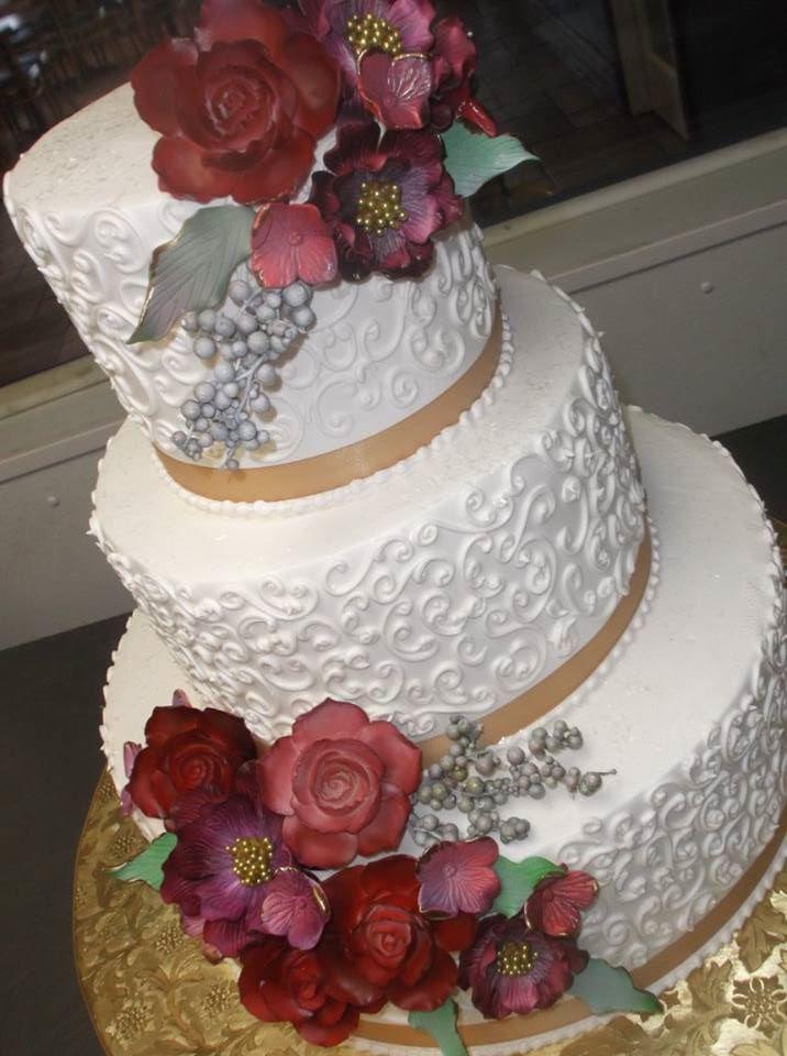 Autumn Wedding Alessi Bakery Cakes Gown