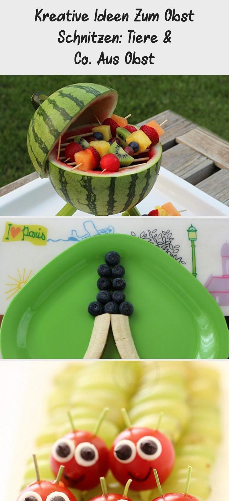 Kreative Ideen zum Schnitzen von Früchten: Animals & Co ...