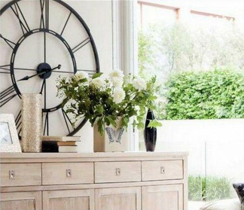 Ideen Für Wandgestaltung   Dekorieren Sie Ihre Zimmerwände Mit Vintage  Wanduhren   Http://