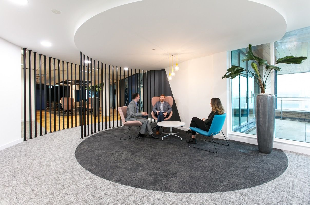 A Look Inside Lookers New Manchester Office Office Interior Design Modern Interior Design Modern Office Design