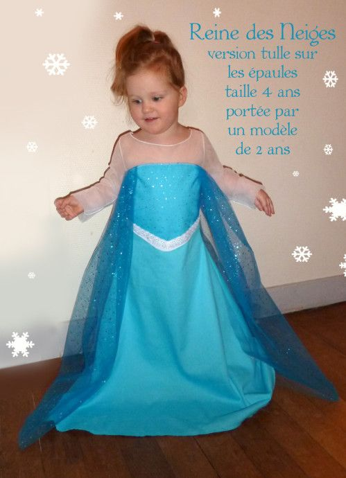 dguisement reine des neiges version tulle 2