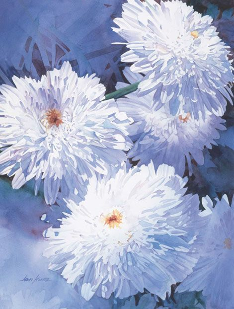 Amazon Com Painting Watercolor Flowers That Glow North Light