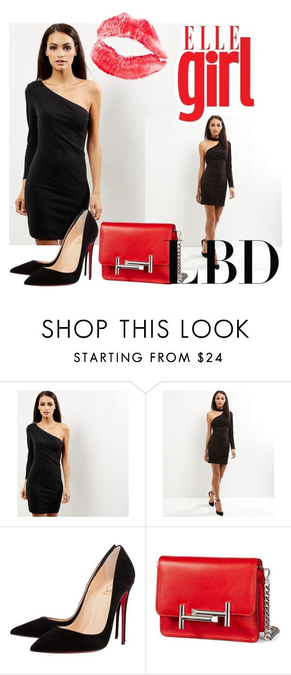 """""""lbt"""" by baium on Polyvore featuring мода, New Look, Christian Louboutin, Tod's и LBT"""