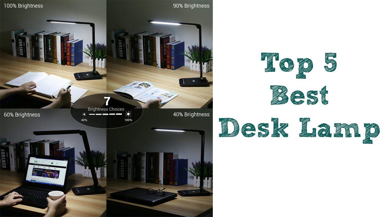 Top 5 Best Desk Lamp 2016 Best Led Desk Lamp 1. LAMPAT