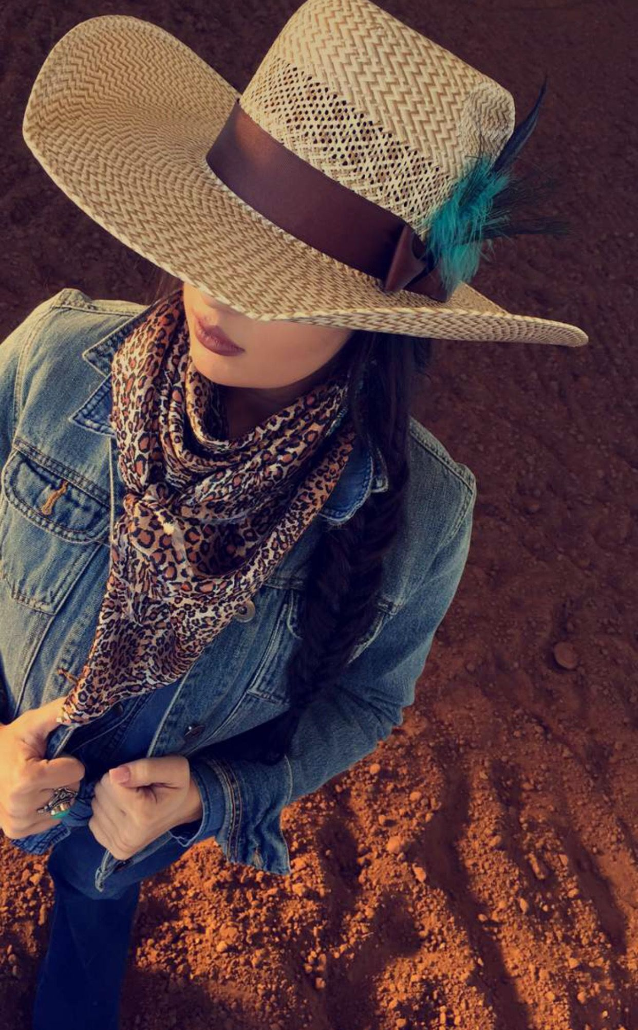 Glam and Grit hat