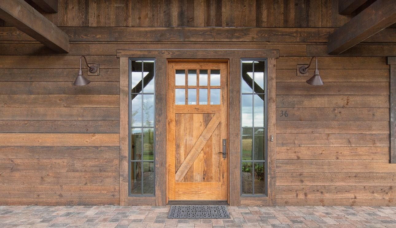 Ranchwood Traditional House Shiplap Siding Timber Framing