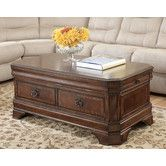 Glenns Storage Trunk Furniture Home Decor Lift Top Coffee Table
