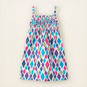 girl - tanks & camis - smocked sequin tank top | Children's Clothing | Kids Clothes | The Children's Place