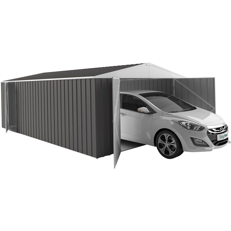 Garage métal Easysheed 1 voiture, 19.24 m² Garage metal