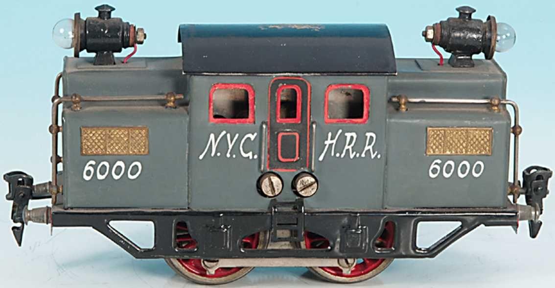 Doll Locomotive NYCHRR 20 volt railcar A2