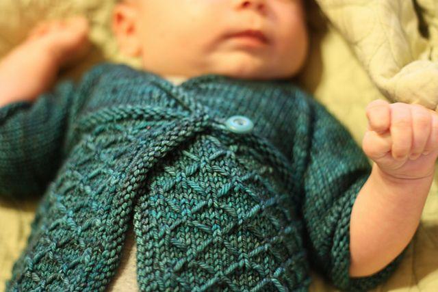 Ravelry: Kyoto pattern by Lisa Chemery :: Handmade Knit Baby Gift Idea