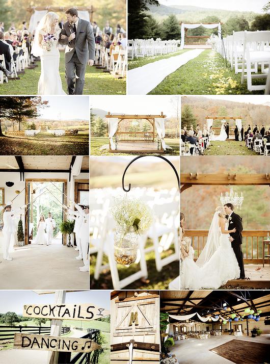 Dahlonega Wedding Venue North Georgia Mountain White Oaks Barn