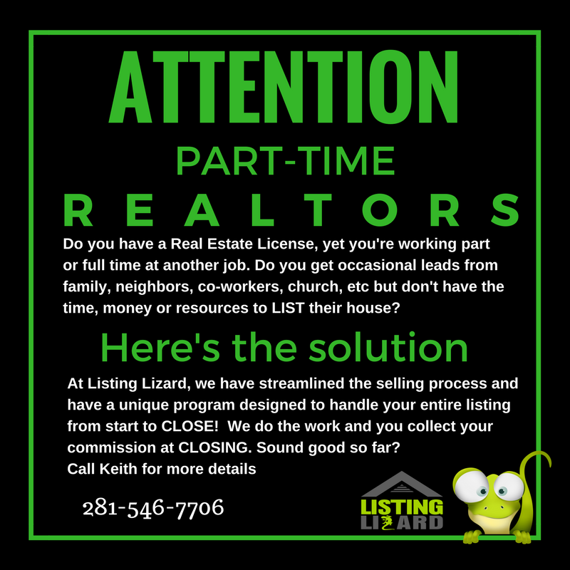 Are You Or Anyone You Know A Part Time Realtor Do You Have A Real