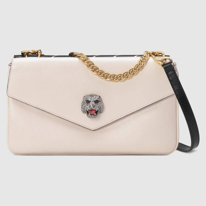 98c90bc2745d Medium double shoulder bag - Gucci Women s Shoulder Bags 5248220PLPX8419
