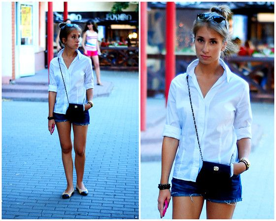 Summer evening (by Julia Baranova) http://lookbook.nu/look/3750549-summer-evening