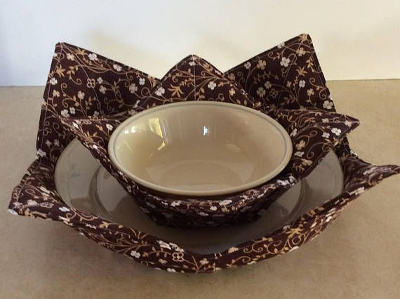 microwave plate bowl cozy microwave pad cold food cozy table protector reversible 2 cozys. Black Bedroom Furniture Sets. Home Design Ideas