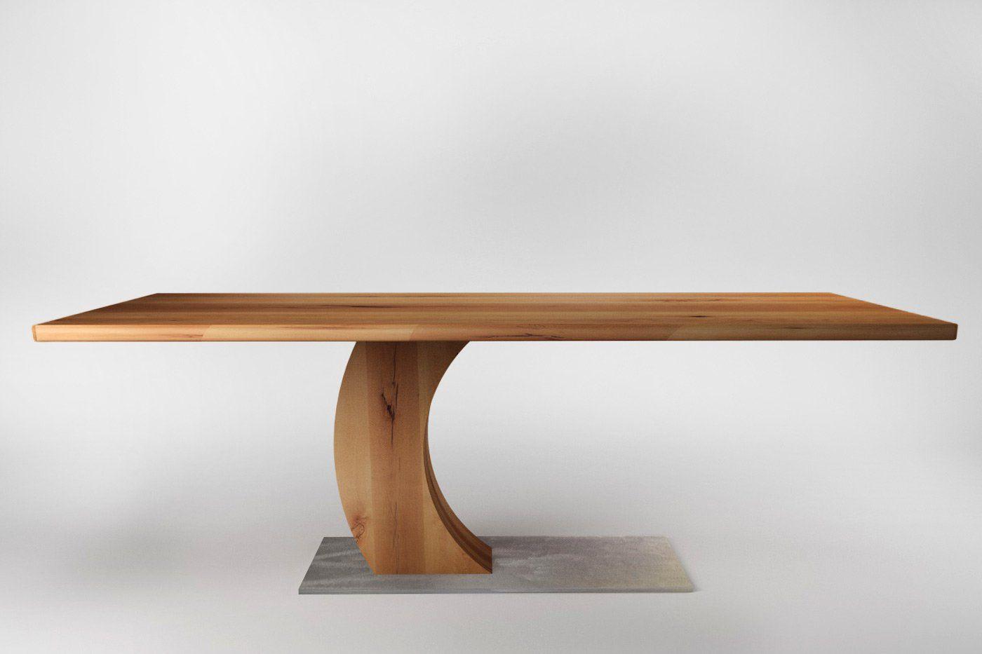 Tisch Buche Ravid Nach Mass Wohnsektion Tisch Holztisch Esstisch Holz
