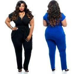 Combinaison  pantalon grande taille N°21   beaute des femmes rondes 54a68676e11