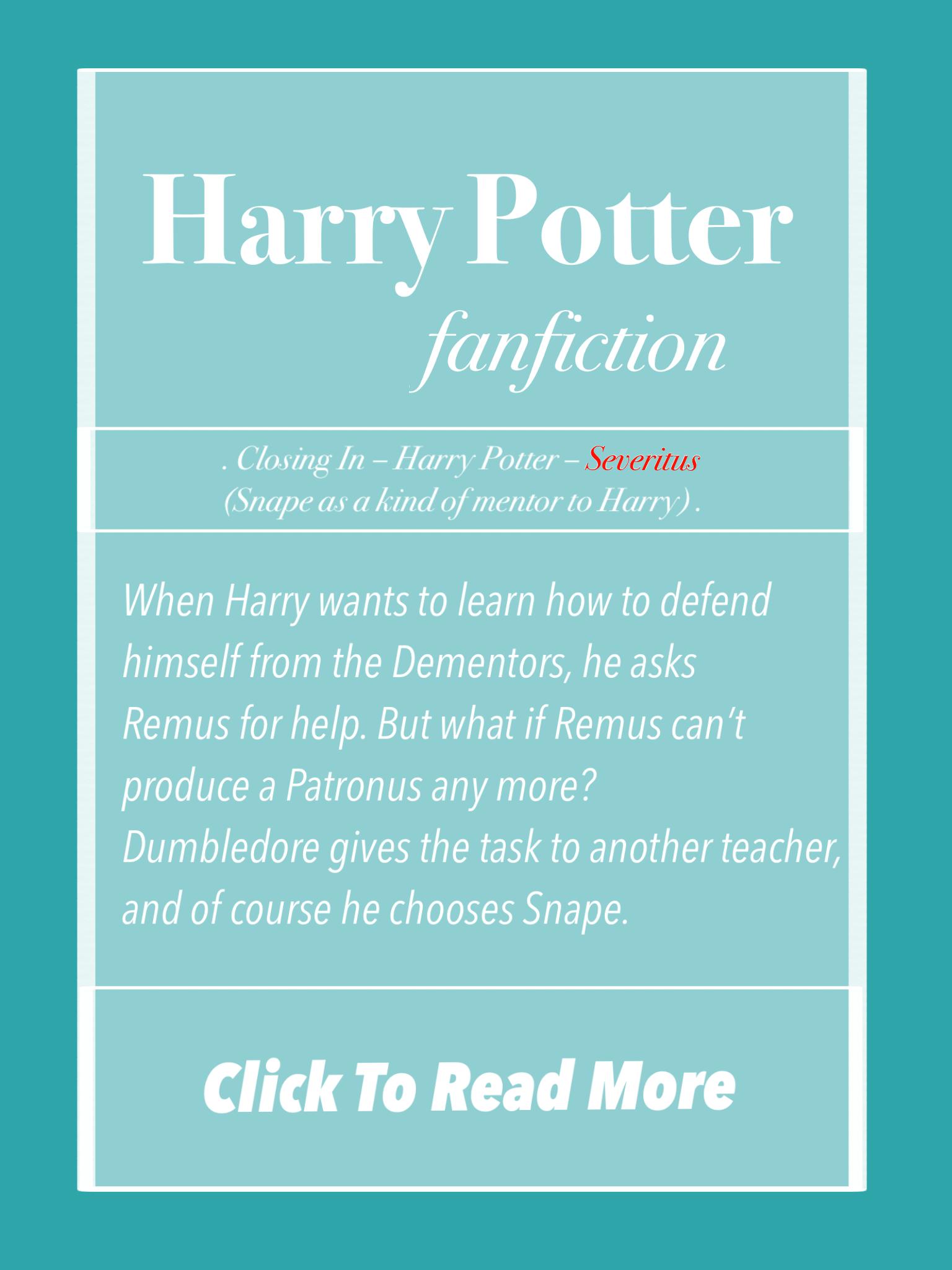 harry potter fan fiction sex
