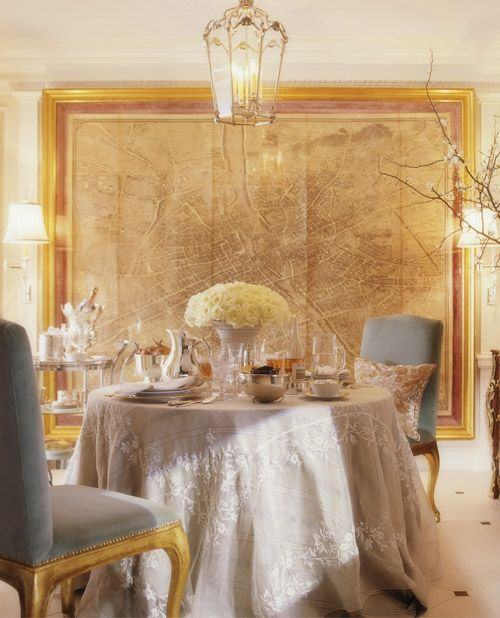 Color outside the lines ralph lauren home collections for Ralph lauren dining room ideas