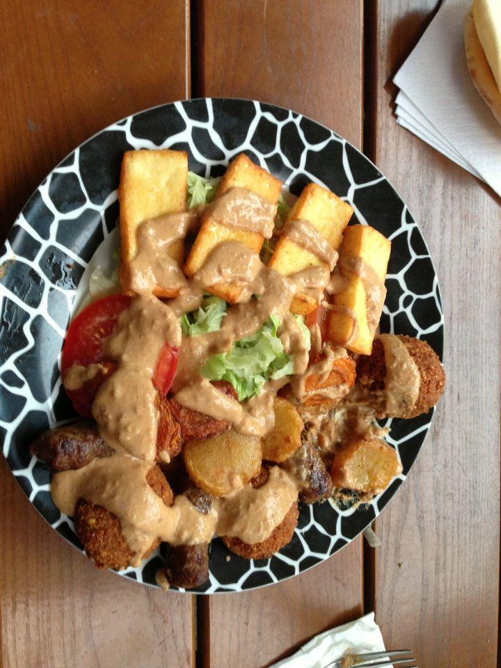 Sahara Eat Halloumi Food