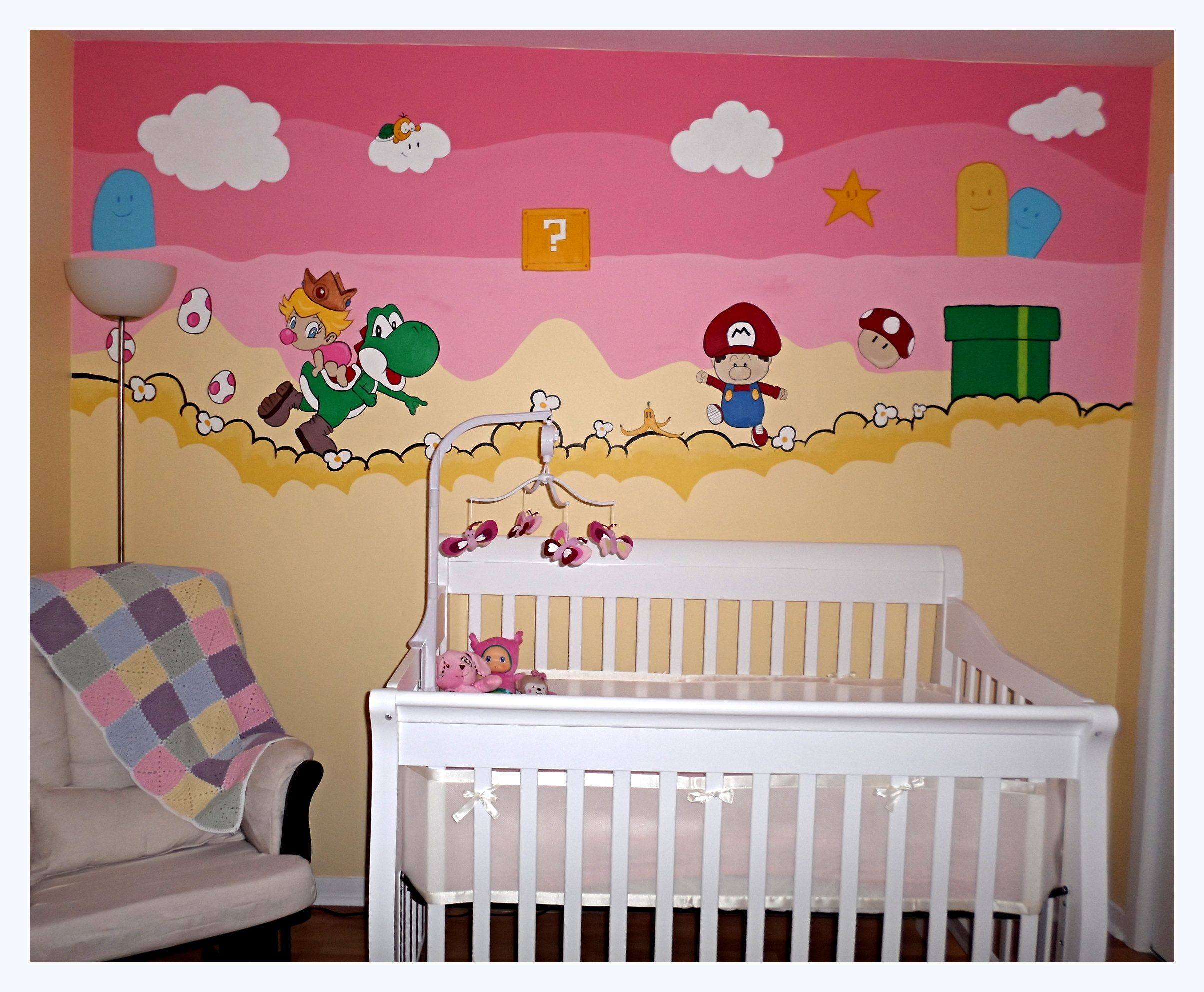 My Baby Girl S Nursery: My Awesome Super Mario Bros Themed Baby Girls Nursery