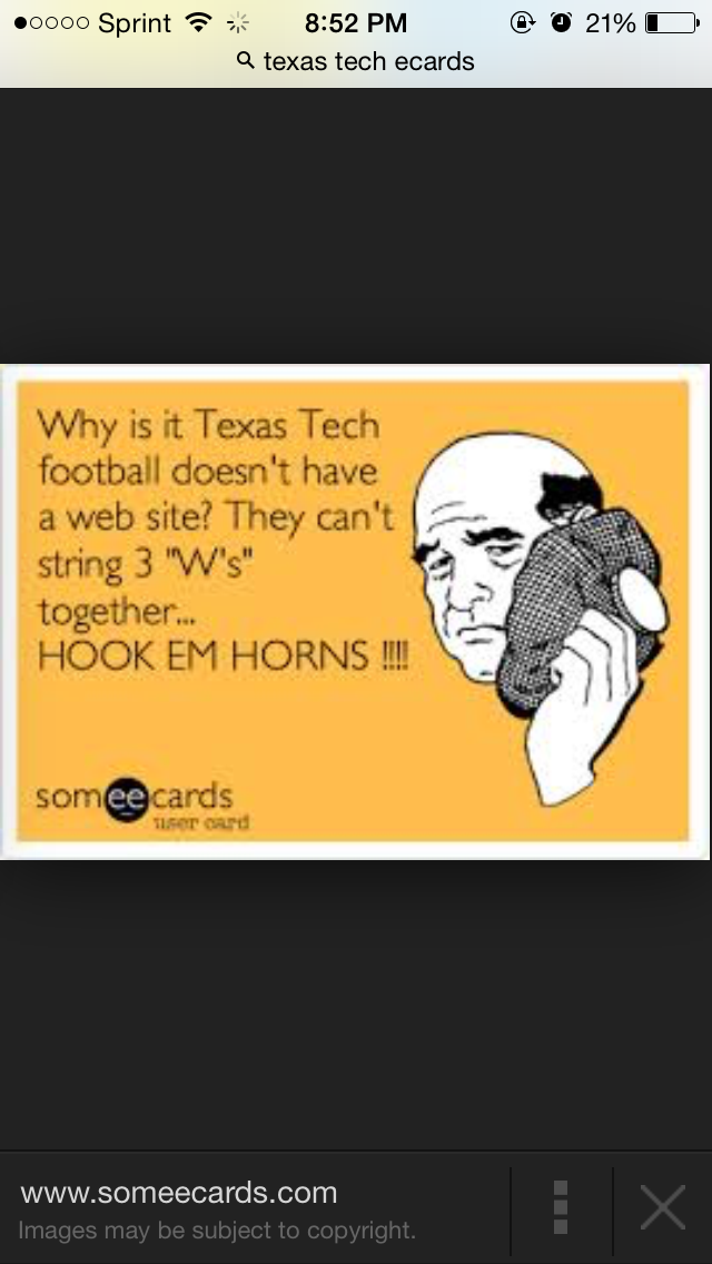 Hook 'Em Horns! Texas tech football, Texas football