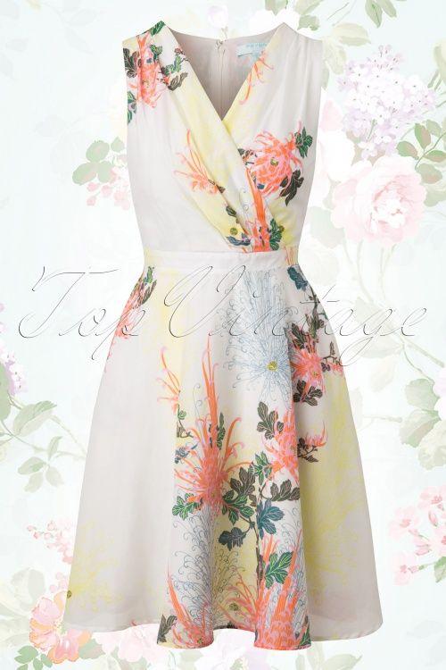 Fever Biscayne Floral Dress  105 59 14001 20150302 0001W
