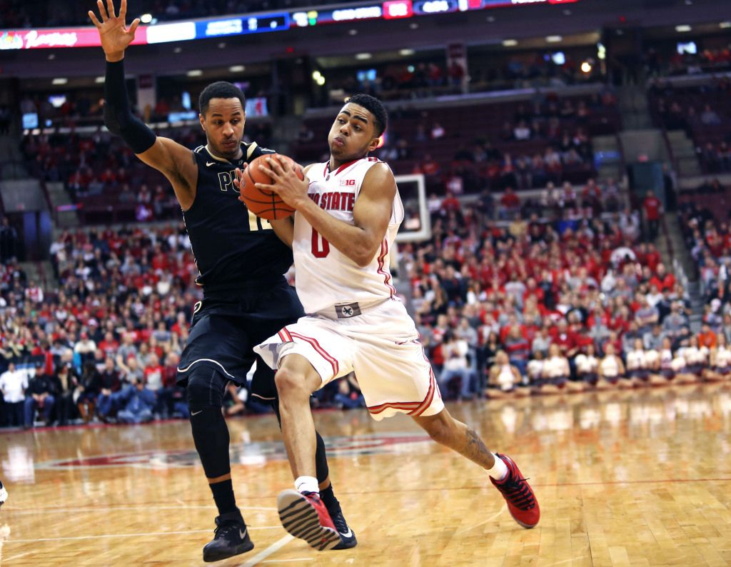 Buckeyes bounce Boilermakers, 6561, after 2ndhalf surge
