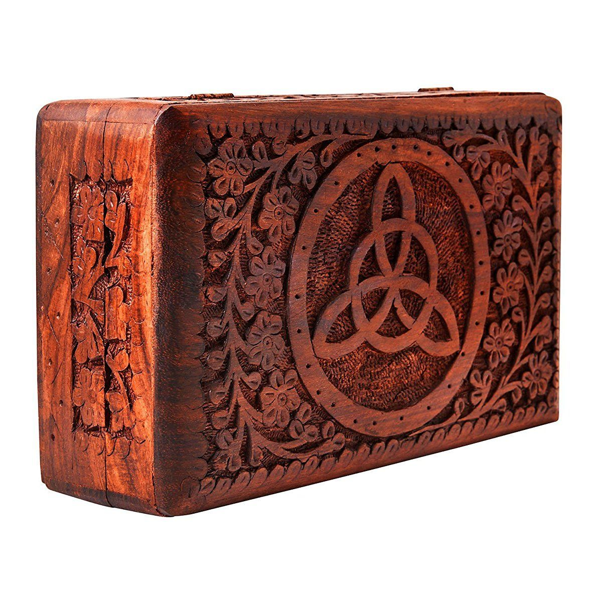 Handmade Decorative Wooden Jewelry Box Jewelry Organizer Keepsake