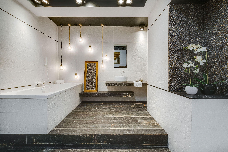 Ekspozycja Max Fliz łazienka łazienka Retro Wanna
