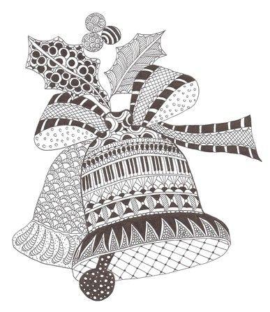 Christmas Zentangle Patterns Zentangle Patterns Zentangle Drawings Christmas Drawing