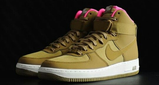 nike air force 1 high golden tan tanning